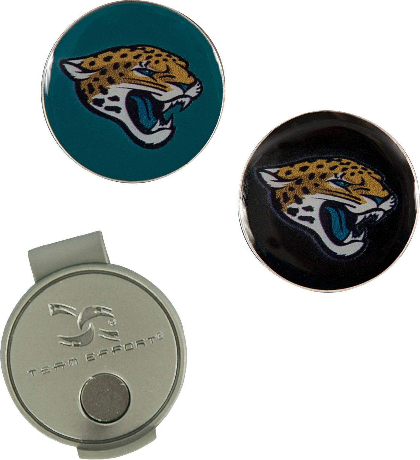 Team Effort Jacksonville Jaguars Hat Clip and Ball Markers