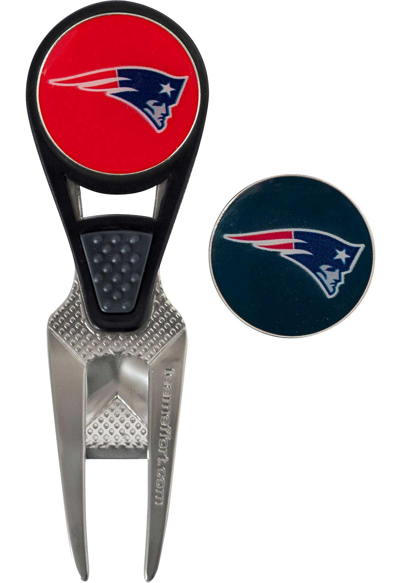 Team Golf New England Patriots Divot Tool and Marker Set