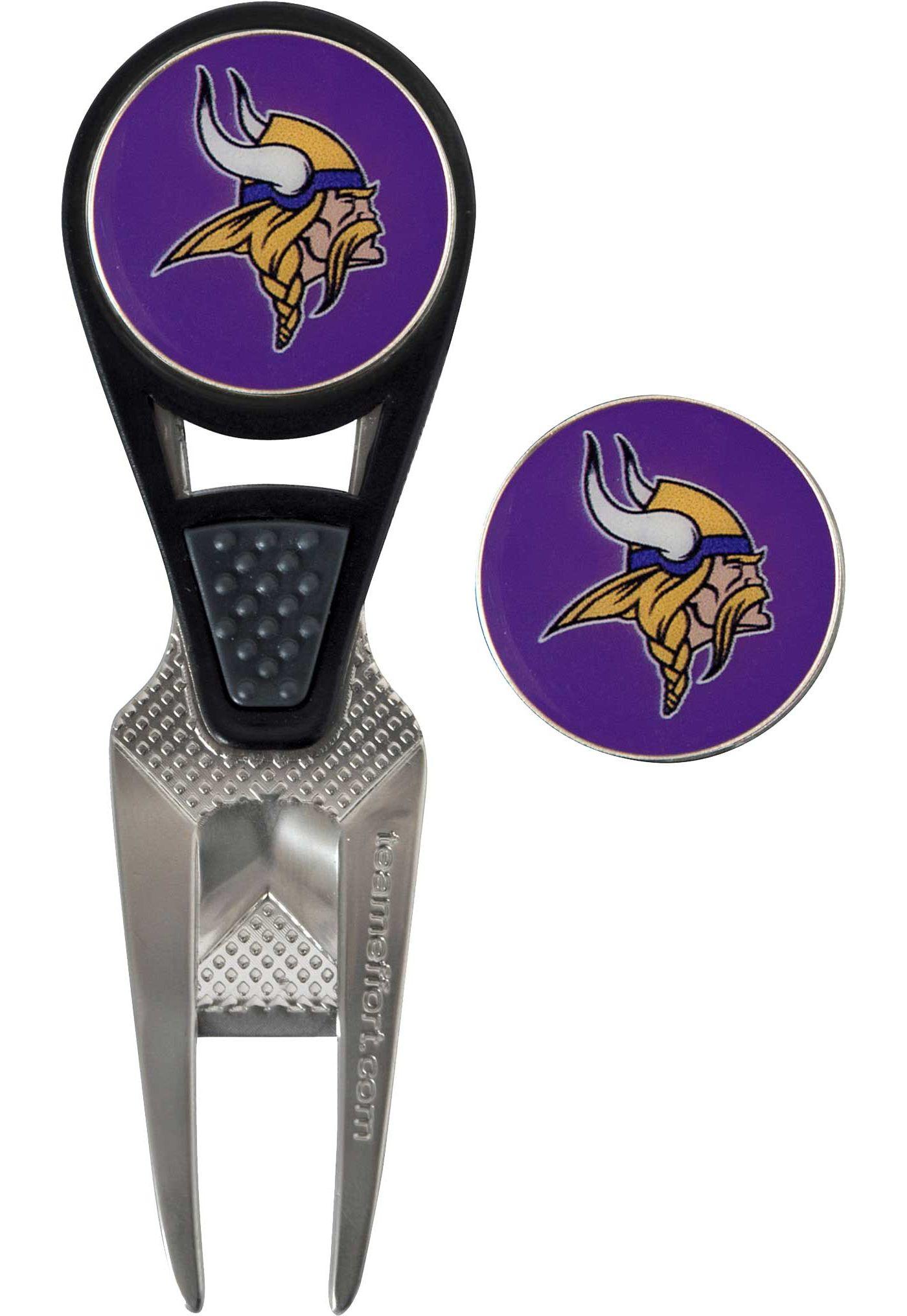 Team Golf Minnesota Vikings Divot Tool and Marker Set