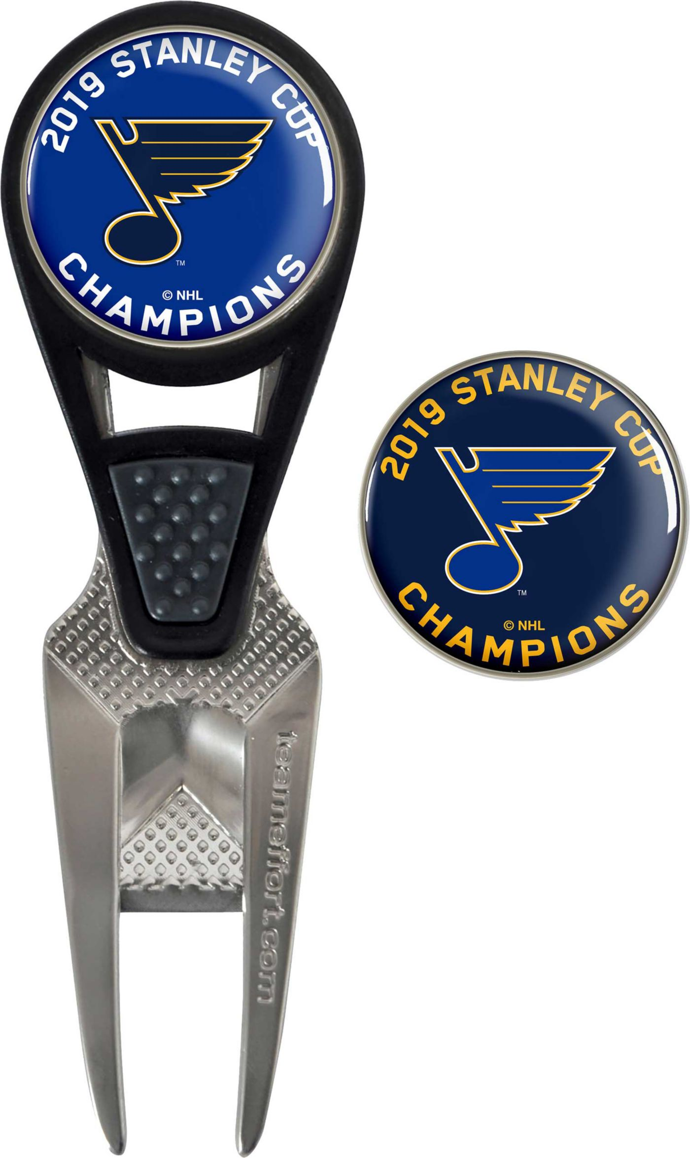 Team Effort 2019 Stanley Cup Champions St. Louis Blues CVX Divot Tool and Ball Marker Set