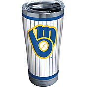 Tervis Milwaukee Brewers 20oz. Stainless Steel Pinstripe Tumbler