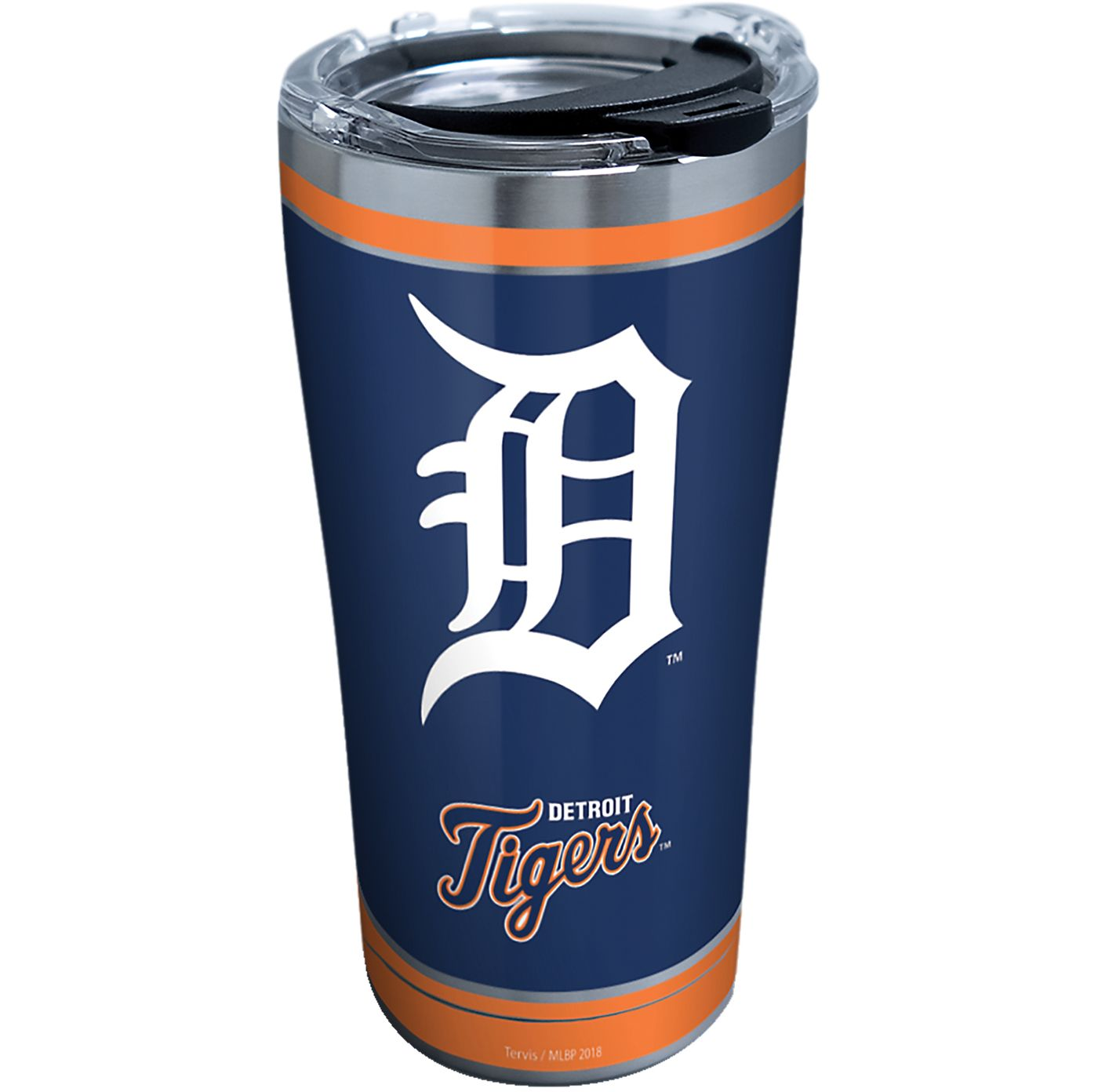 Tervis Detroit Tigers 20oz. Stainless Steel Home Run Tumbler