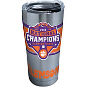 Tervis 2018 National Champions Clemson Tigers 20oz. Stainless Steel Tumbler