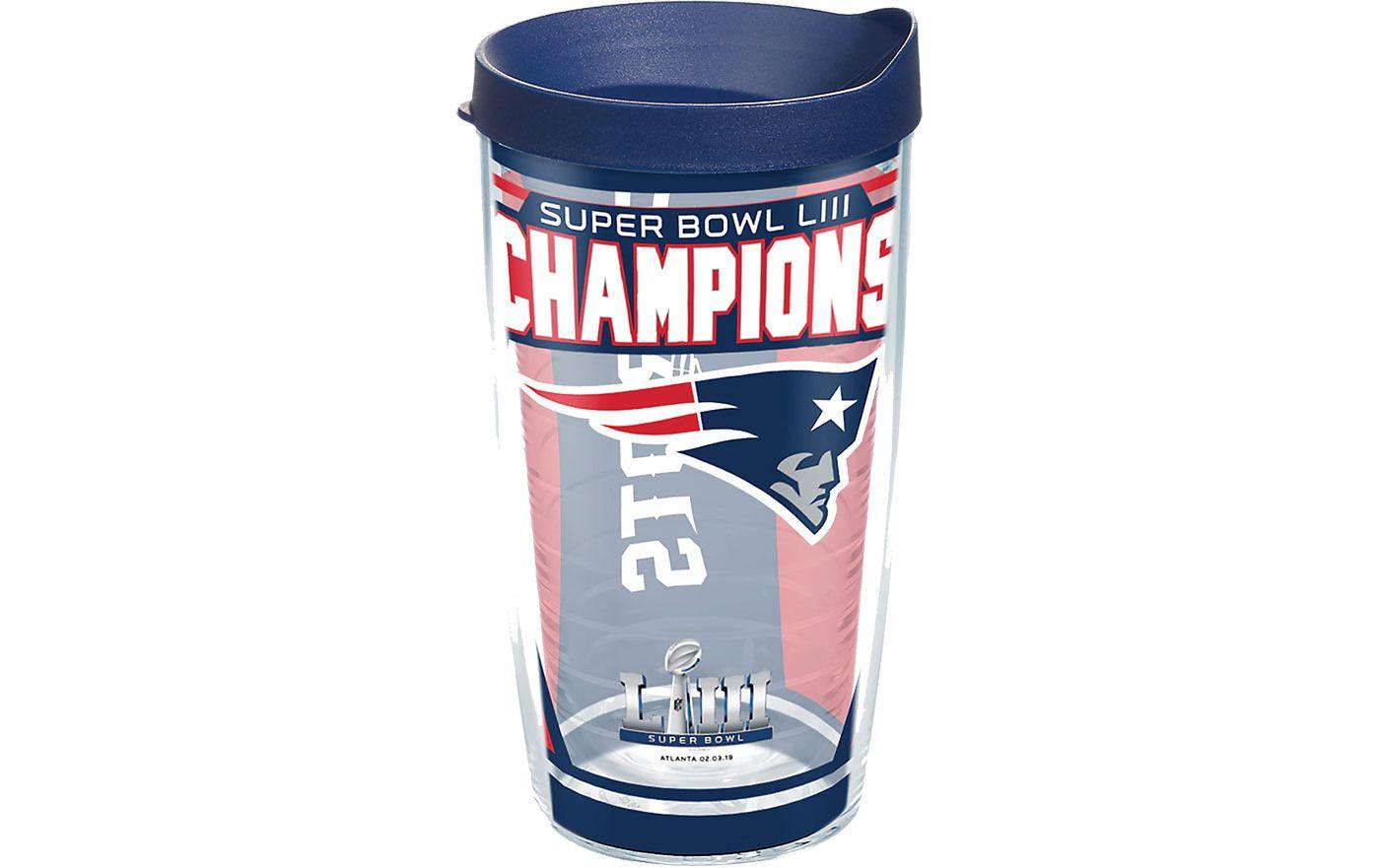 Tervis Super Bowl LIII Champions New England Patriots 16oz. Tumbler