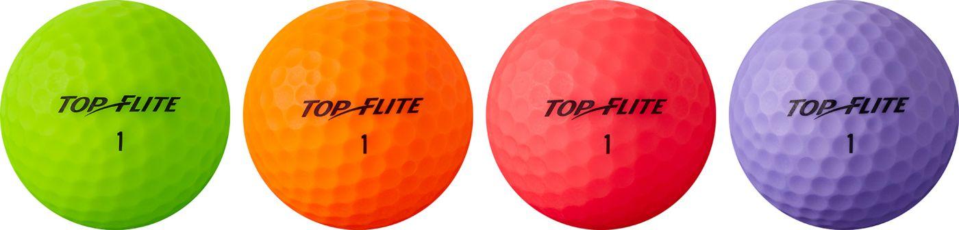 Top Flite Women's 2019 Lady Matte Multi-Color Personalized Golf Balls