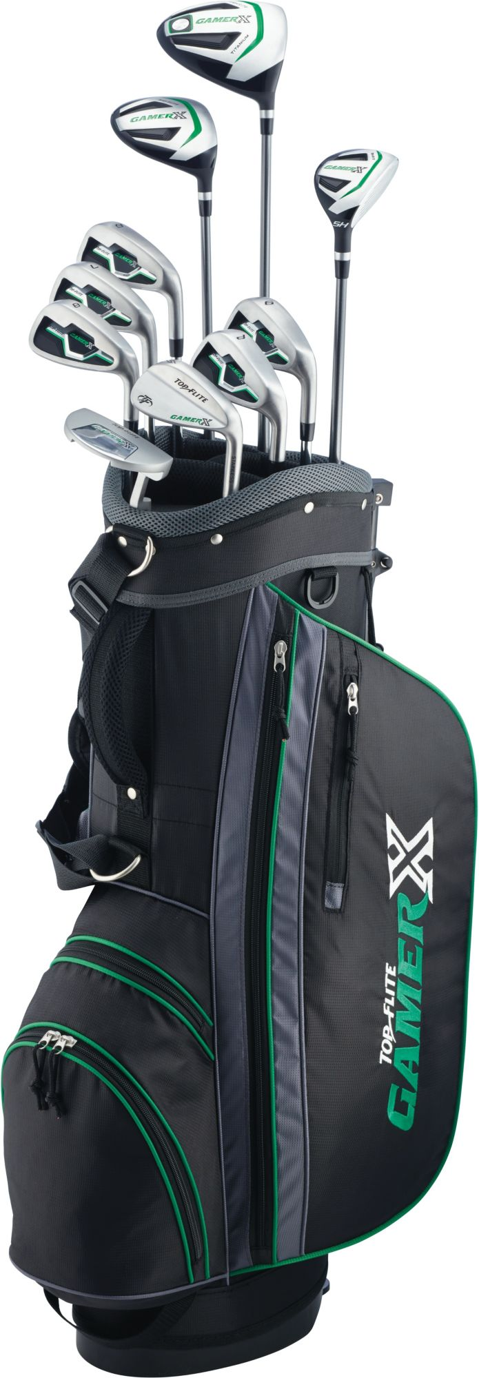 Kids Golf Club Sets-Top-Flight Kids 2019 Gamer X Varsity