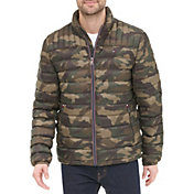 Tommy Hilfiger Men's Packable Logo Quilted Down Jacket