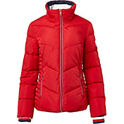 Tommy Hilfiger Women's Chevron Puffer Jacket