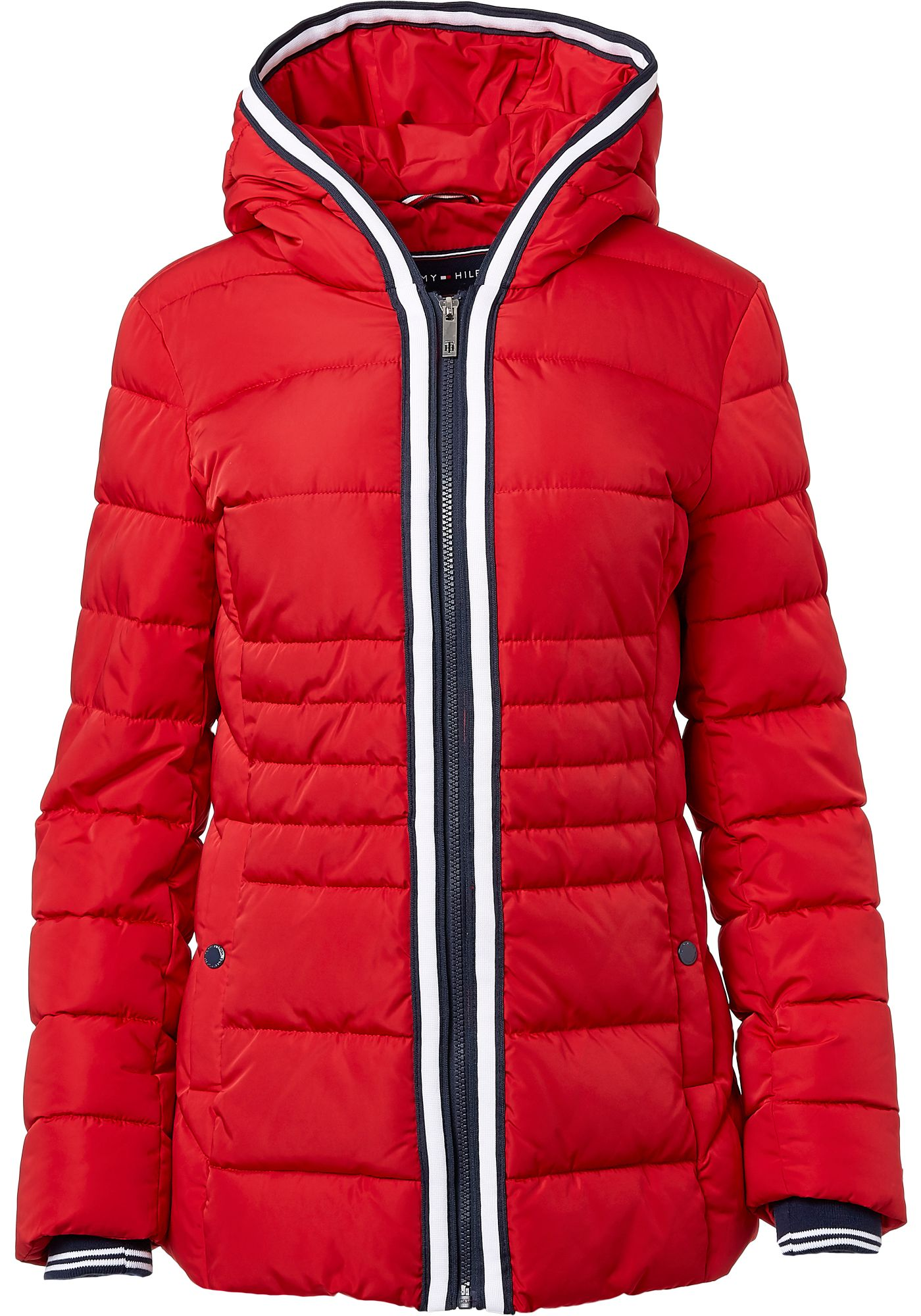 Tommy Hilfiger Women's Taped Puffer Jacket