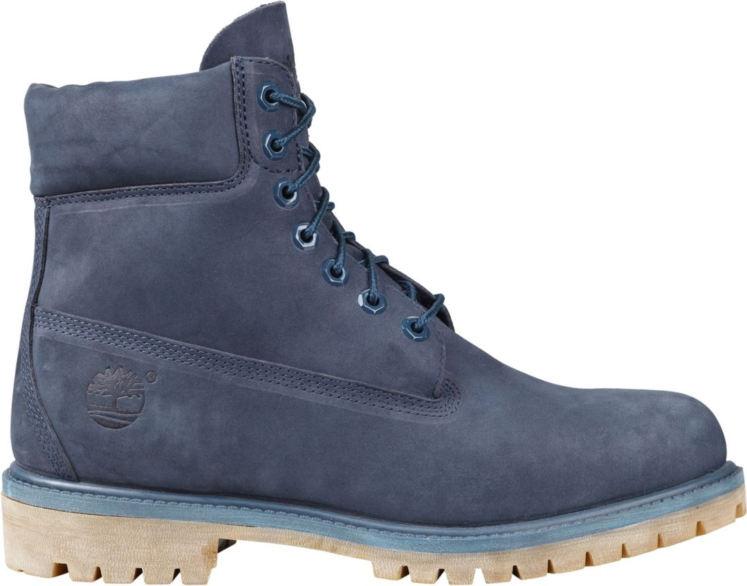 Shop Timberland Men's '6 In Premium' Leather Boots Wide