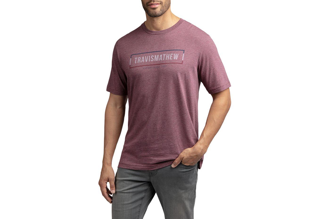 TravisMathew Men's Biblioteca Golf T-Shirt