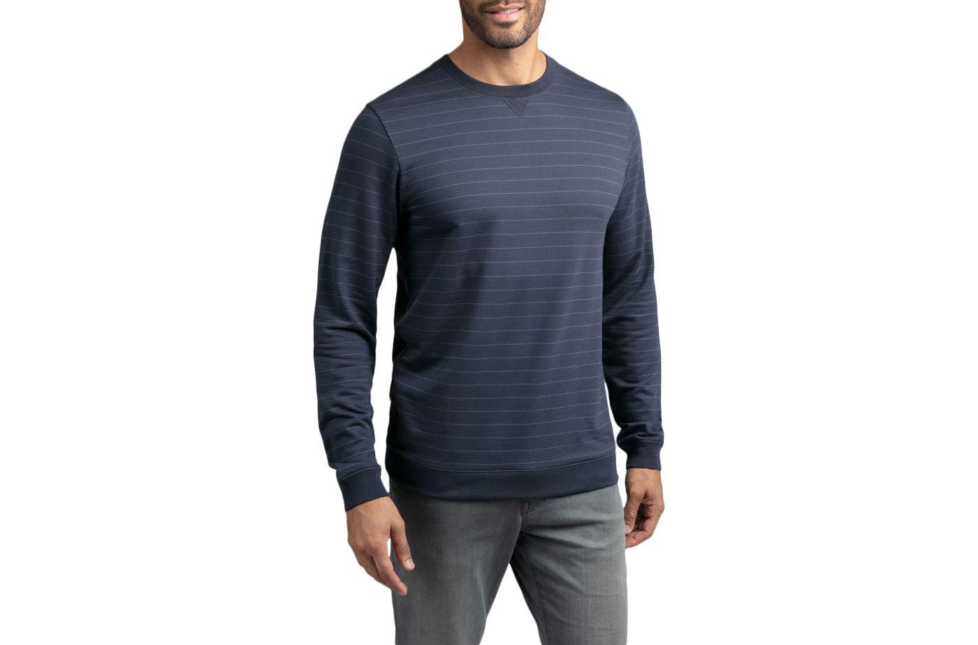 TravisMathew Men's Carlin Long Sleeve Golf Shirt