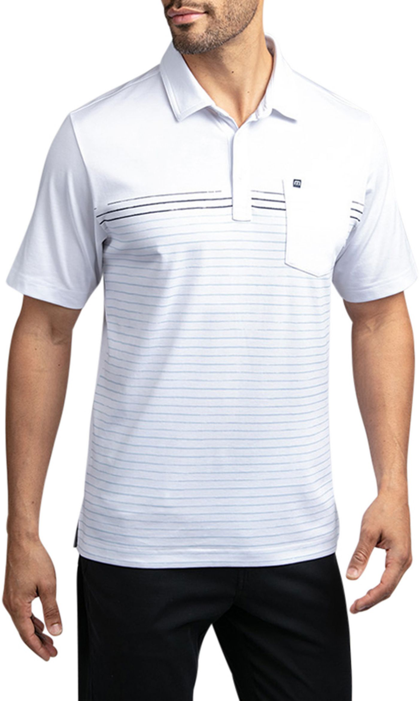 TravisMathew Men's Deep End Golf Polo