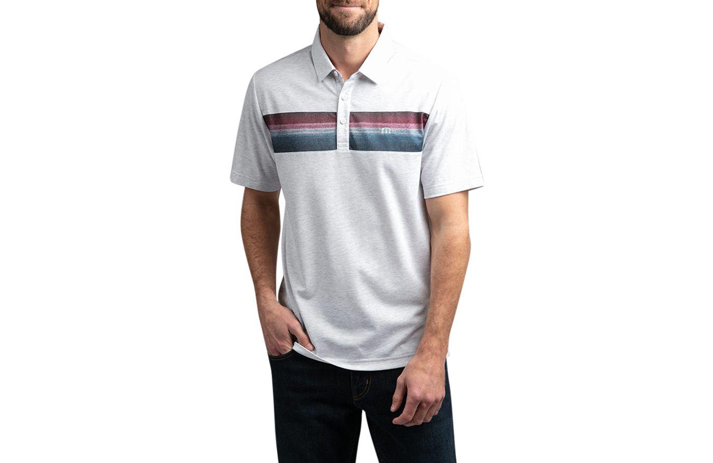 TravisMathew Men's Fredo Golf Polo