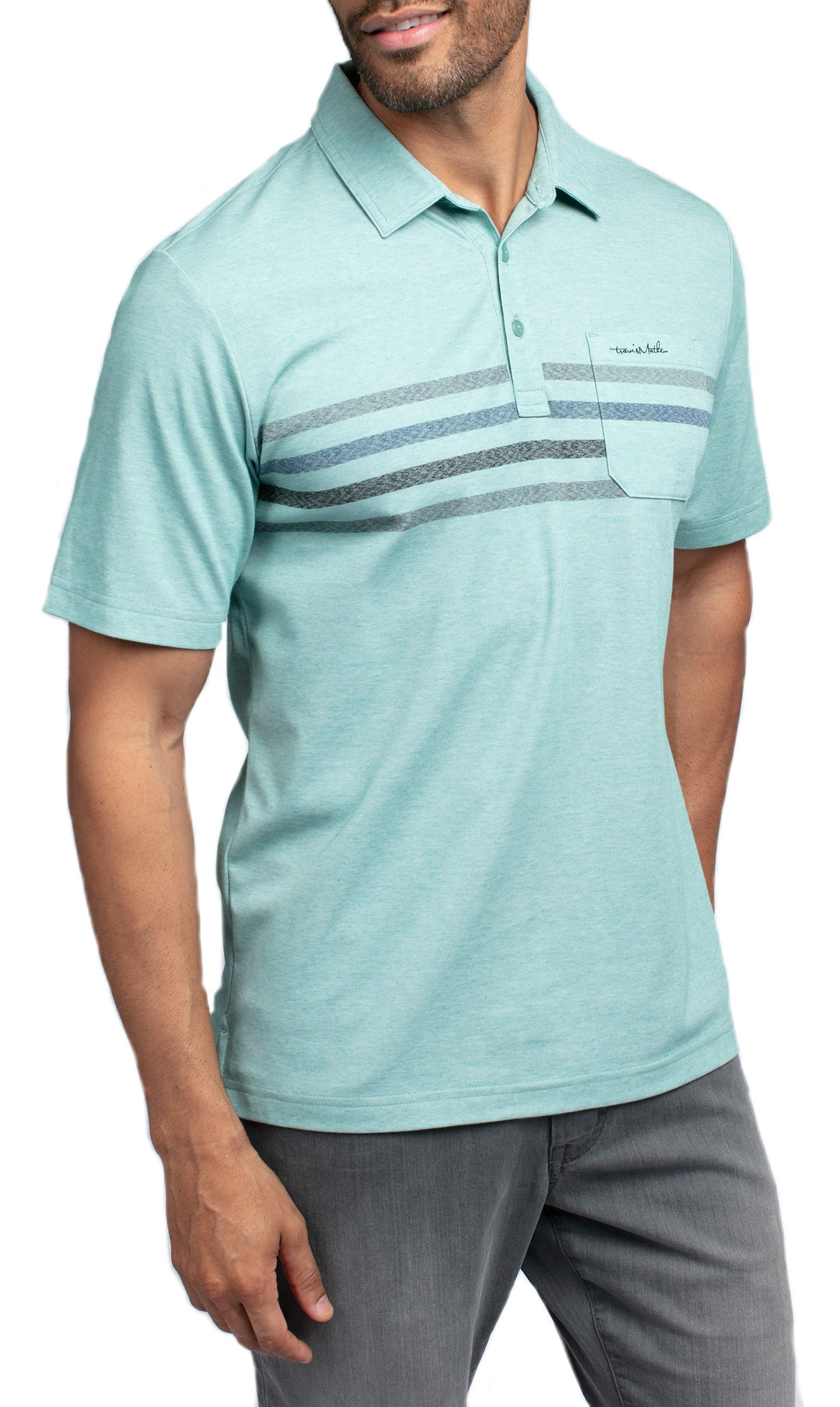 TravisMathew Men's Oh Snap Golf Polo