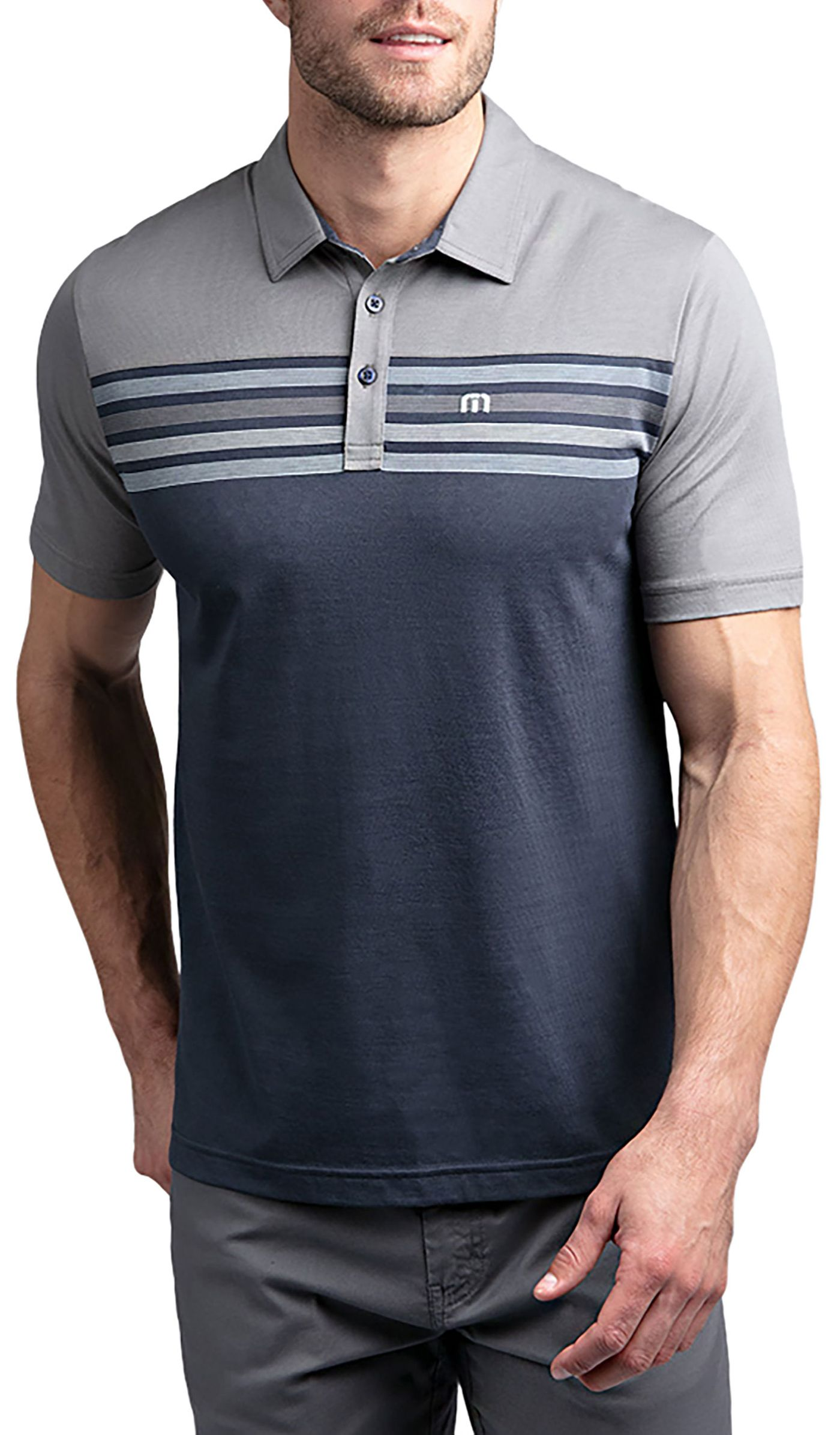 TravisMathew Men's All Day Every Day Golf Polo