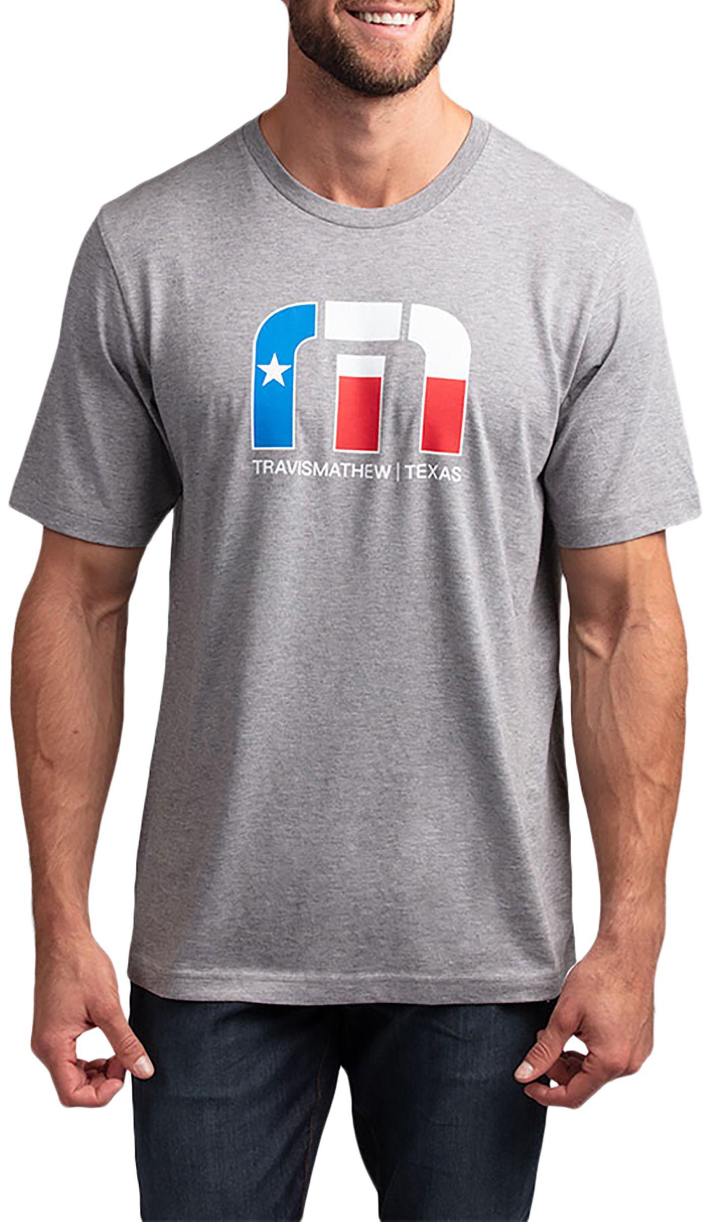 TravisMathew Men's Lone Star Golf T-Shirt