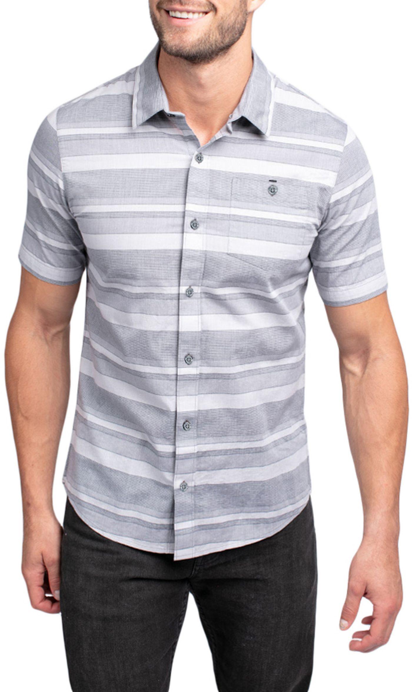 TravisMathew Men's Mahe Short Sleeve Button Down Golf Shirt