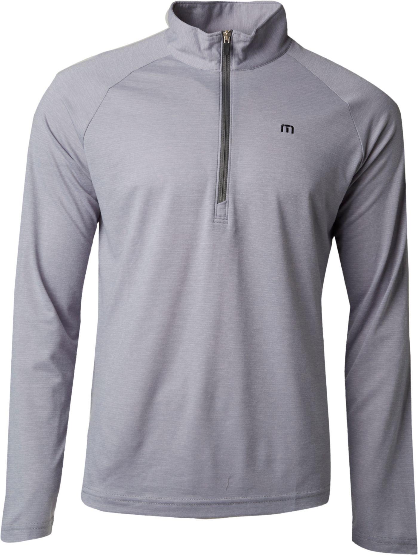 TravisMathew Men's Nobak ¼ Zip Golf Pullover