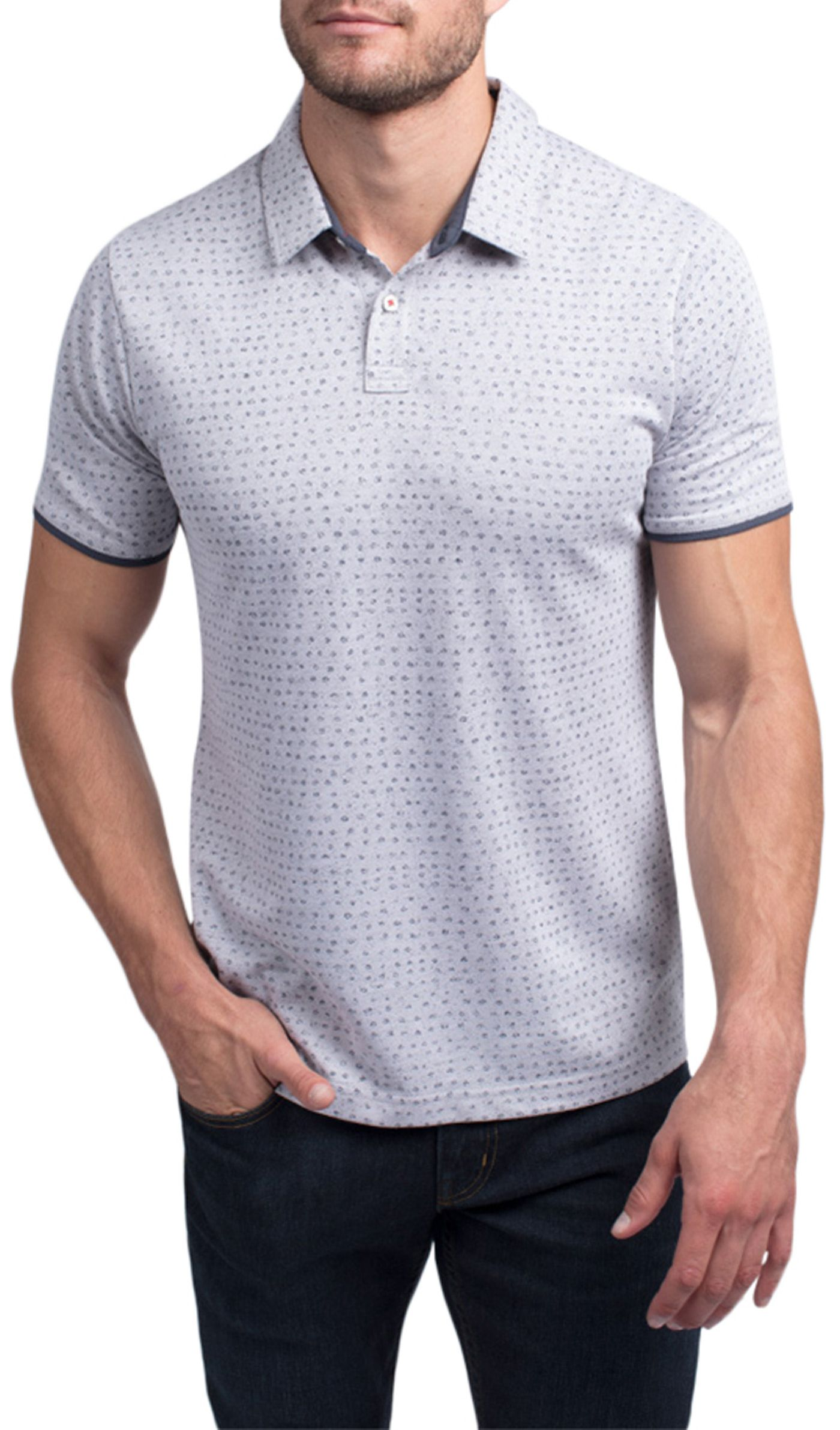 TravisMathew Men's Nailed It Golf Polo