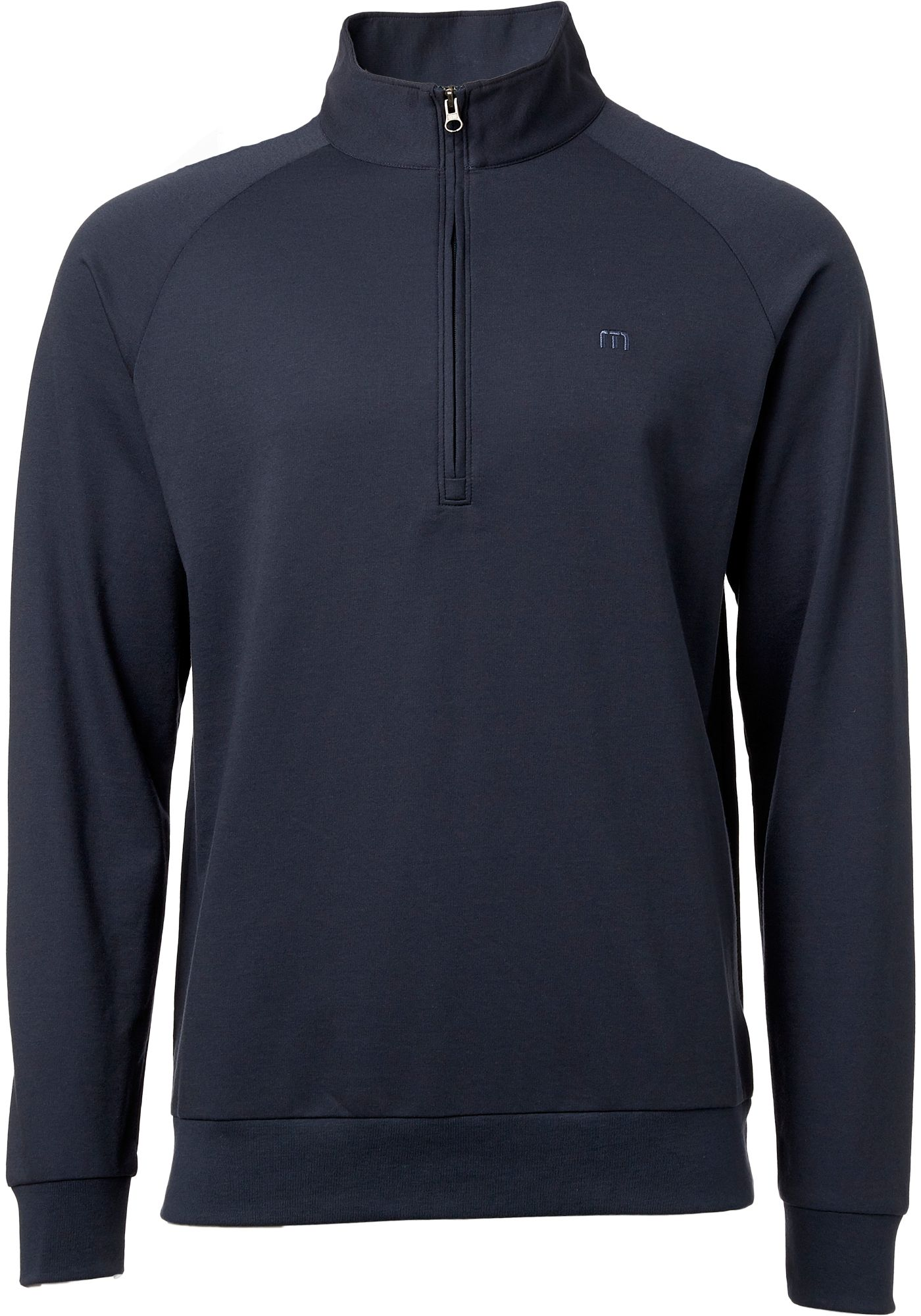 TravisMathew Men's Newton ¼ Zip Golf Pullover
