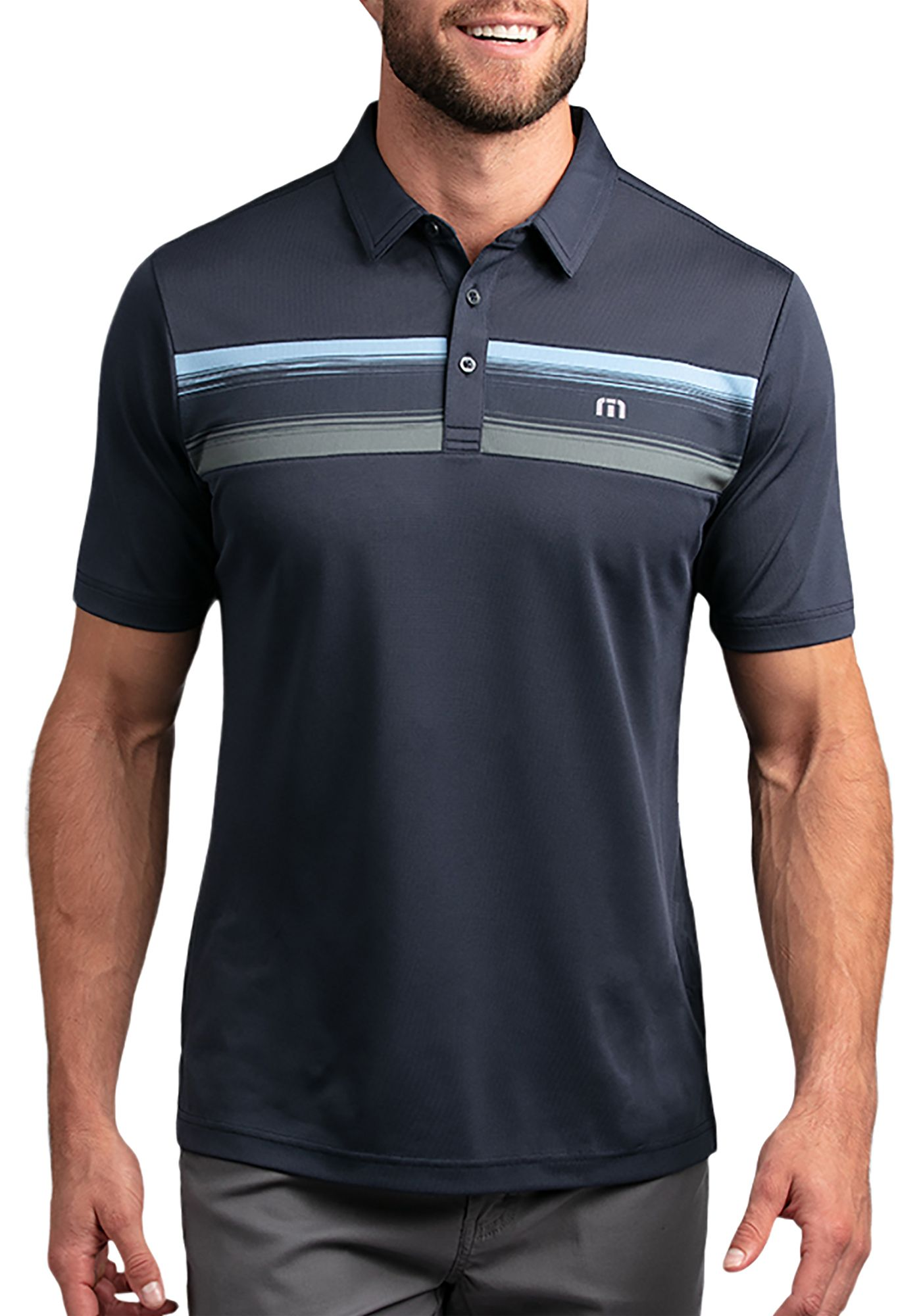 TravisMathew Men's Par Tee Golf Polo