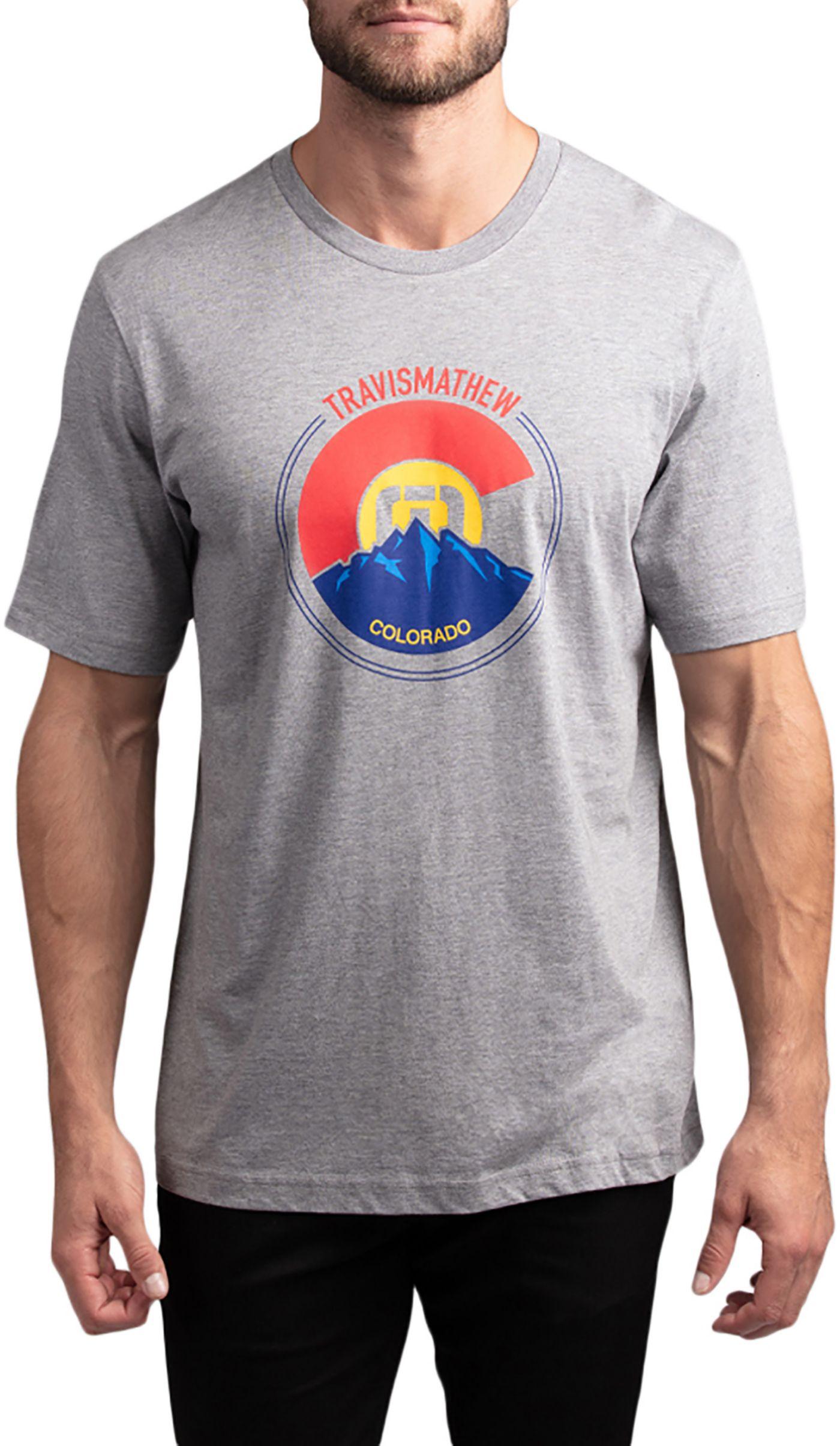 TravisMathew Men's Thin Air Golf T-Shirt