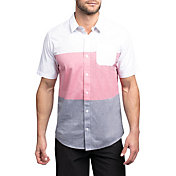 TravisMathew Men's Too Much Fun Woven Golf Shirt