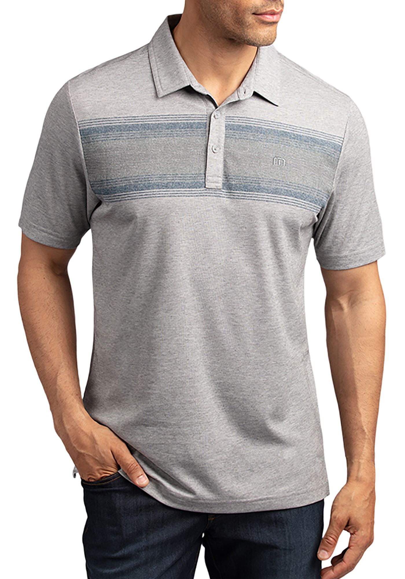TravisMathew Men's Torchbearer Golf Polo