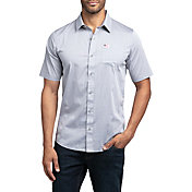 0f5115eef TravisMathew Men s White Buffalo Woven Golf Shirt