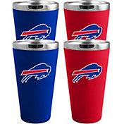 Memory Company Buffalo Bills 4 Pack Drinkware Set