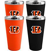 Memory Company Cincinnati Bengals 4 Pack Drinkware Set