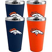 Memory Company Denver Broncos 4 Pack Drinkware Set