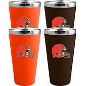 Memory Company Cleveland Browns 4 Pack Drinkware Set