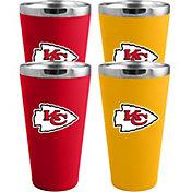 Memory Company Kansas City Chiefs 4 Pack Drinkware Set
