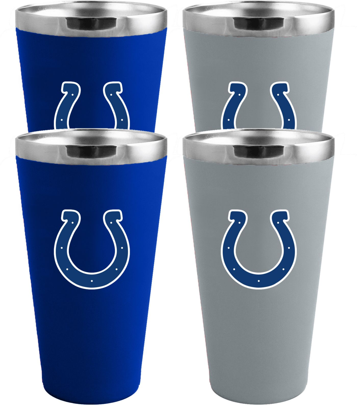 Memory Company Indianapolis Colts 4 Pack Drinkware Set