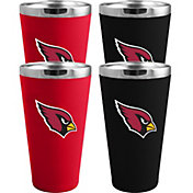 Memory Company Arizona Cardinals 4 Pack Drinkware Set