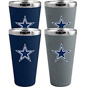 Memory Company Dallas Cowboys 4 Pack Drinkware Set