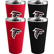 Memory Company Atlanta Falcons 4 Pack Drinkware Set