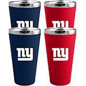 Memory Company New York Giants 4 Pack Drinkware Set