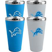 Memory Company Detroit Lions 4 Pack Drinkware Set
