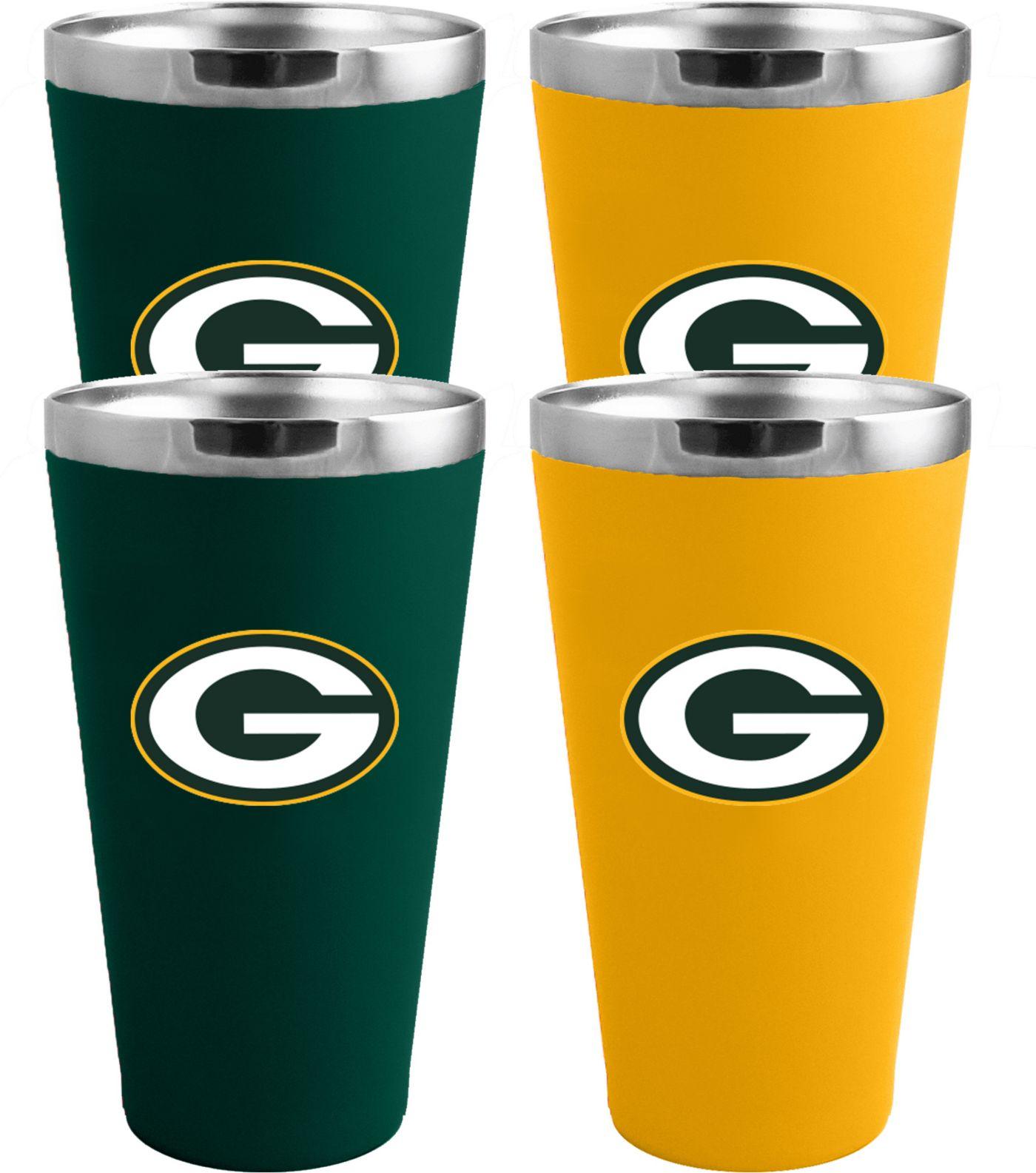 Memory Company Green Bay Packers 4 Pack Drinkware Set