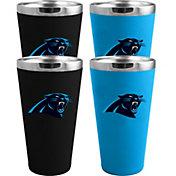 Memory Company Carolina Panthers 4 Pack Drinkware Set