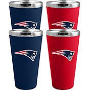Memory Company New England Patriots 4 Pack Drinkware Set