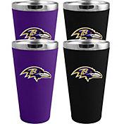 Memory Company Baltimore Ravens 4 Pack Drinkware Set