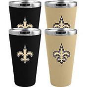 Memory Company New Orleans Saints 4 Pack Drinkware Set