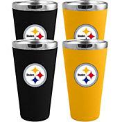Memory Company Pittsburgh Steelers 4 Pack Drinkware Set