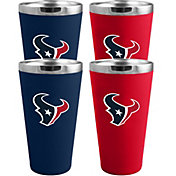 Memory Company Houston Texans 4 Pack Drinkware Set
