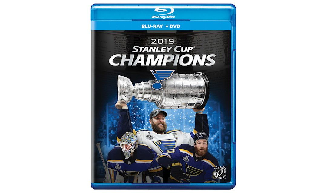 3bf4f723359 Team Marketing 2019 NHL Stanley Cup Champions St. Louis Blues DVD & Blu-Ray