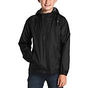 The North Face Boys' Zipline Rain Jacket in TNF Black